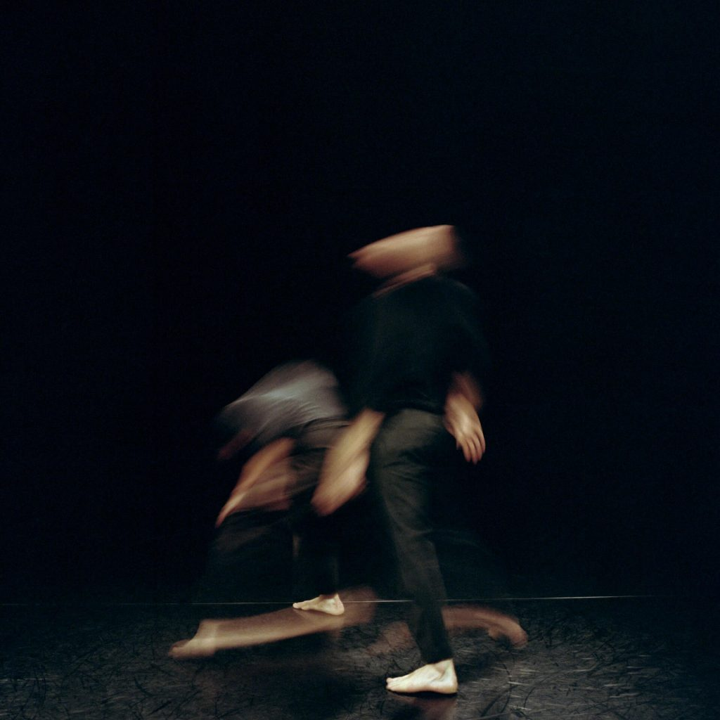 Choreographic duet The Gyre performed by Angela Rabaglio and Micaël Florentz